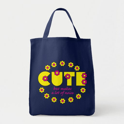 Cute but makes a lot of noise! bags