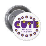 Cute but pins