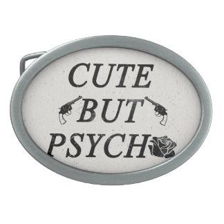 Cute but psycho belt buckle