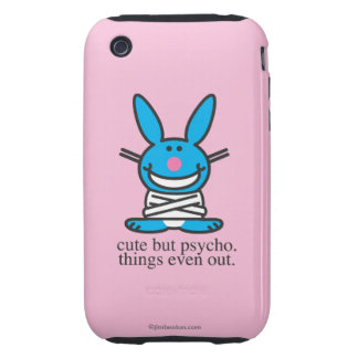 Cute but Psycho iPhone 3 Tough Cover