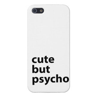 Cute But Psycho Cases For iPhone 5