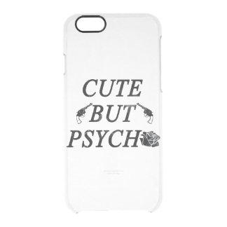 Cute but psycho clear iPhone 6/6S case