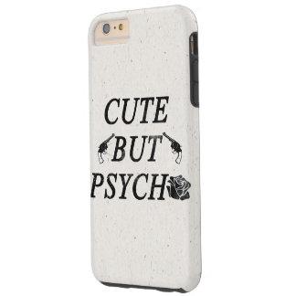 Cute but psycho tough iPhone 6 plus case
