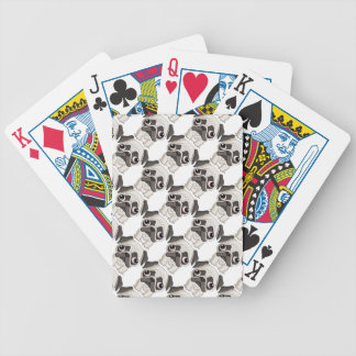 Cute But Sad Pug Puppy Bicycle Playing Cards