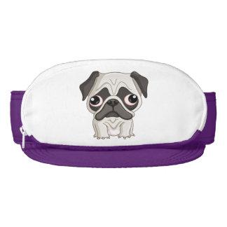 Cute But Sad Pug Puppy Visor