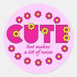 Cute but sticker