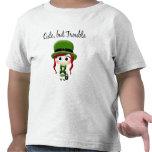 Cute But Trouble Leprechaun T Shirts