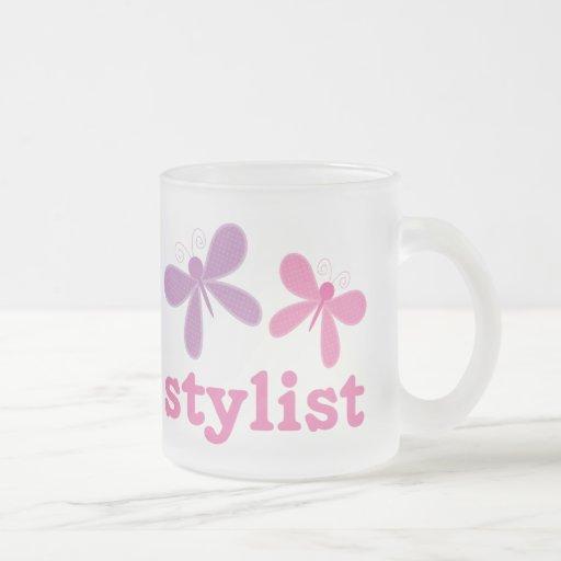 Cute Butterflies Beauty Stylist Coffee Mugs
