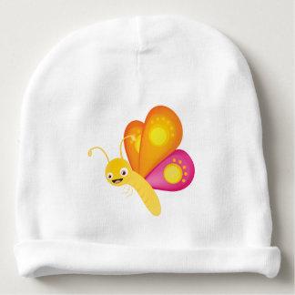 Cute butterfly baby beanie