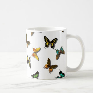 Cute Butterfly Background Coffee Mug