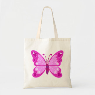 Cute Butterfly Budget Tote Bag