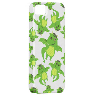 Cute Button Eyed Zombie Dragon iPhone SE/5/5s Case