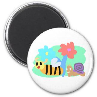 Cute Button Magnet