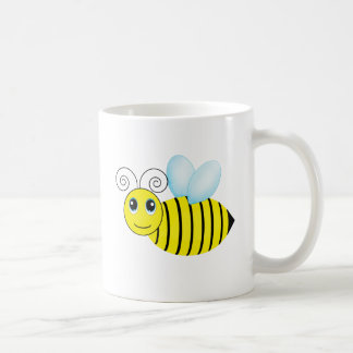 Cute Buzzing Honey Bee Coffee Mug