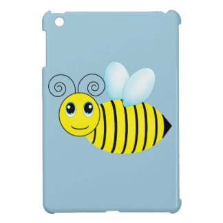Cute Buzzing Honey Bee iPad Mini Covers