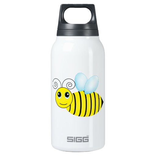 Cute Buzzing Honey Bee Thermos Bottle