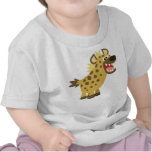 Cute Cackling Cartoon Hyena Baby T-Shirt