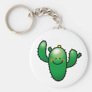 cute cactus keychain