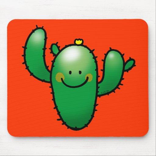 cute cactus mousepad