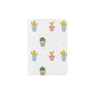 Cute Cactus Passport Holder