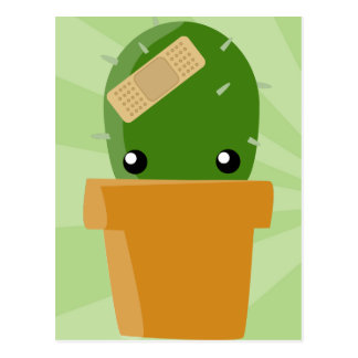 Cute Cactus Postcard