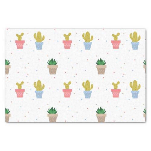 Cute Cactus Tissue Paper