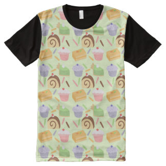Cute Cake All-Over Print Shirt