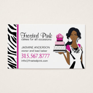 Cute Cake Artist Business Card