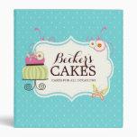 Cute Cake Baker Binder