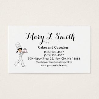 Cute Cake Cupcake Sale Calling Card