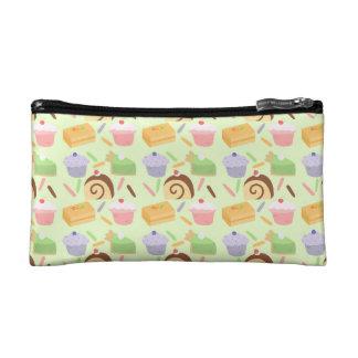 Cute Cake Pattern Makeup Bag