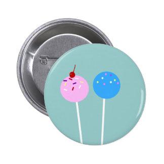 CUTE Cake Pops Button
