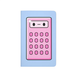 Cute Calculator Journal