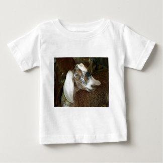Cute Calico Goat Friend Baby T-Shirt