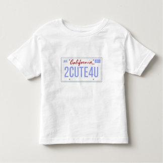 cute california license shirt for boys born 01/11