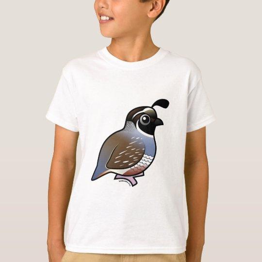 Cute California Quail T-Shirt