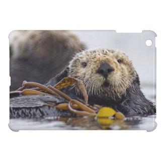 Cute California Sea Otter iPad Mini Case; Wildlife iPad Mini Covers