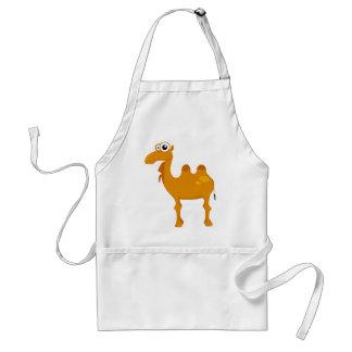 Cute camel adult apron