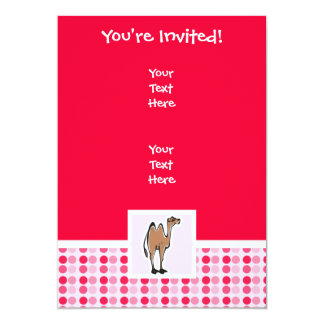 Cute Camel Card
