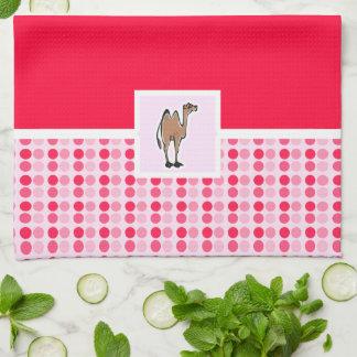 Cute Camel Kitchen Towel
