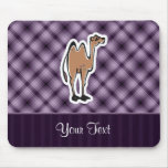 Cute Camel; Purple Mouse Pad