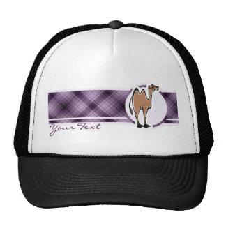 Cute Camel; Purple Trucker Hat