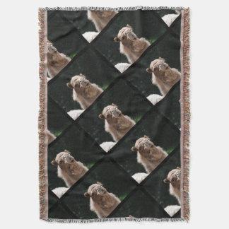 Cute Camel Throw Blanket