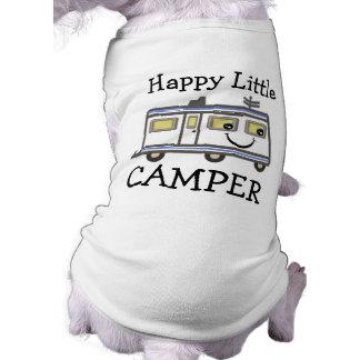 Cute Camping / Camper Puppy Dog T-shirt