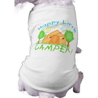 Cute Camping Puppy Tee