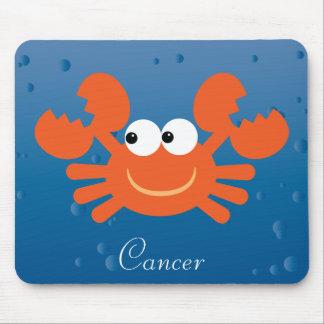 Cute Cancer Crab Zodiac Sign Custom Mouse Pad