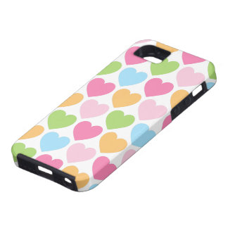 Cute candy hearts girly iPhone 5 case for girls