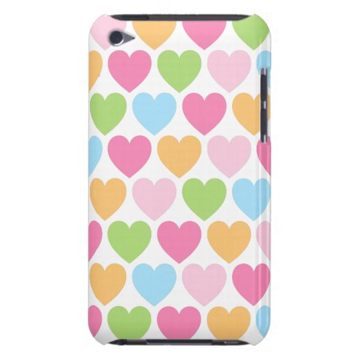 Cute candy hearts girly iPod case for girls iPod Touch ...