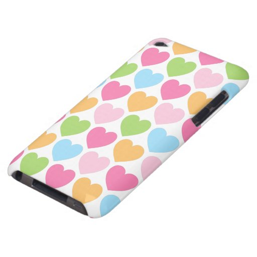 Cute candy hearts girly iPod case for girls | Zazzle