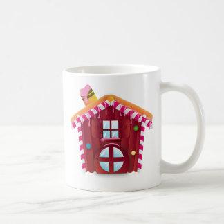 Cute candy house coffee mug